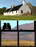 Traditional Scottish Self Catering Cottage on shores of Glenelg