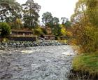 RiverTilt Lodge, Blair Atholl, Pitlochry. Sleeping 2/4, Swimming Pool, River View